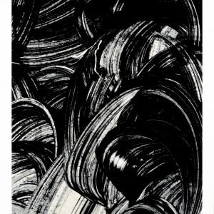 Tirage en sérigraphie 3 couleurs sur feuille d'aluminium thermo-laquée blanche, avril 2014. 51 x 66,2 x 2 cm. Tirage : 4 exemplaires n., s.